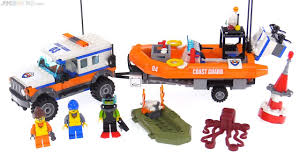 lego city jeep lego city 4x4 response unit review coast guard set 60165 youtube