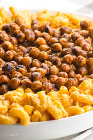 vegan stovetop mac and cheese with smoky chickpeas namely marly