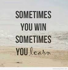 you win quote message