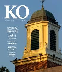 ko magazine fall 2017 by kingswood oxford issuu