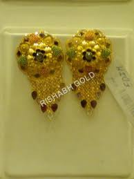 gold earrings tops gold ear tops manufacturer gold ear tops supplier exporter