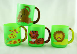 design plastic mug buy 1 zoo animal plastic mug no design choice the party things