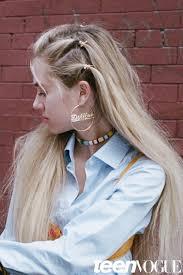 milky way hair belle get to know teen model and singer delilah belle hamlin teen vogue