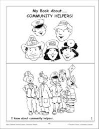 my book about community helpers mini book projects to try