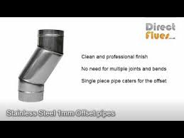 Fireplace Pipe For Wood Burn by Flue Pipe Installing Connecting Your Wood Burning Stove Youtube