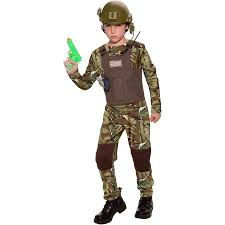 Army Costumes Halloween Delta Force Child Halloween Costume Walmart