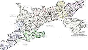 Erie County Map Map Of Ontario Map