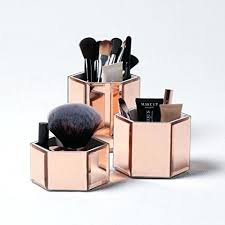 rose gold vanity table rose gold bedroom accessories glamour vanity mirror with led bulbs