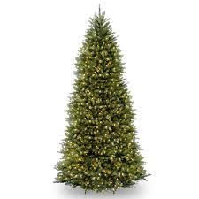 18ft pre lit dunhill fir artificial tree garden