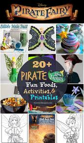 disney u0027s the pirate fairy 20 fun foods activities u0026 coloring