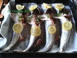 cuisiner du merlu merlus au four recettes de enzo la conque d or