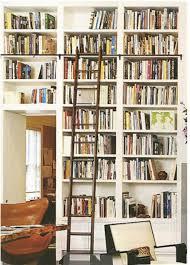 Sliding Bookshelf Ladder Bookshelf Love Elements Of Style Blog