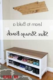 diy entryway bench entryway bench diy diy entryway shoe storage bench project photos