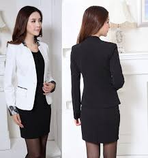 2015 new professional fall winter business women work wear suits