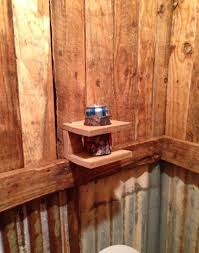 cave bathroom ideas garage my husband says a drink holder is necessary for the cave