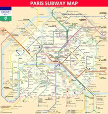 Toronto Subway Map Paris Subway Map Lines Stations And Interchanges