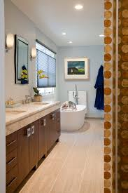 Acrylic Bathroom Mirror 12 24 Tile Bathroom Eclectic With 3form Acrylic Panel Bathroom
