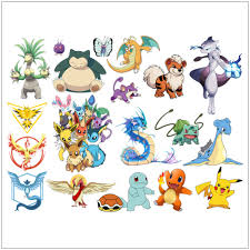 Stickers For Kids Room Aliexpress Com Buy Pokemon Go Wall Stickers For Kids Rooms Home
