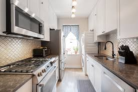 how much is a galley kitchen remodel learning to your small galley kitchen in nyc