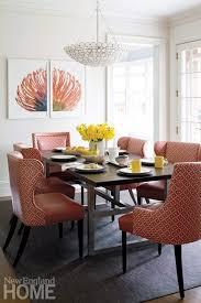 Orange Dining Room Galleries New England Home Magazine