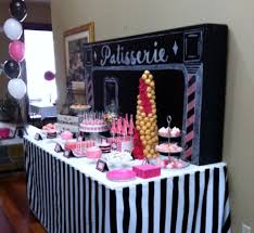 dessert table paris themed bridal shower dessert table and