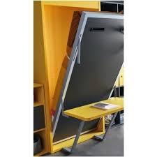 lit avec bureau coulissant lit escamotable fr esc 10 armoire lit escamotable vertical avec