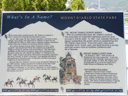 Mt Diablo State Park Map by Mount Diablo Principal Meridian