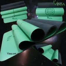 Thảm tập yoga Ä'á ‹nh tuyến Vinsa