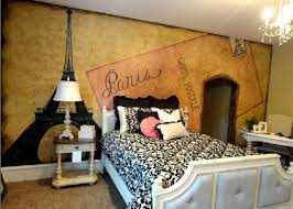 Paris Wallpaper For Bedroom by Vintage Bedroom Ideas For Girls With Paris Mural Wallpaper Nove Home