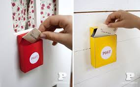 mailbox craft diy mini mailboxes with free template by pysselbolaget what a