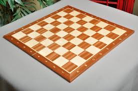 Wooden Chess Set by Folding Mahogany Maple Wooden Tournament Chess Board House Of