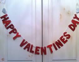 Valentines Day Decoration Happy Valentines Day Etsy