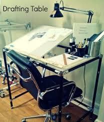 Build Drafting Table Ikea Drafting Table Art Studio Pinterest Studio Desks And