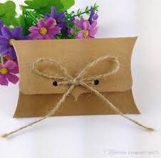 cheapest place to buy wrapping paper wholesale kraft paper gift box 100 80 25mm pillow box kraft box