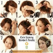 tutorial mengikat rambut kepang kepang rambut