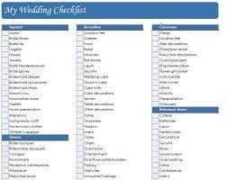 wedding planning list wedding day checklist wedding ideas photos gallery