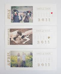 vintage save the date photo save the date calendar cards
