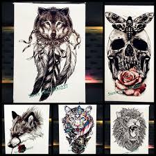 wolf indian tattoos designs wolf tattoo designs reviews online shopping wolf tattoo designs