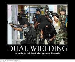 Swat Meme - dual wielding reposti