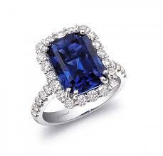 sapphire emerald cut engagement rings emerald cut engagement ring coast
