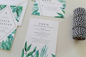 Accommodation Cards For Wedding Invitations Botanical Wedding Information Card Accommodation Card
