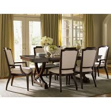 lexington furniture 708 877 westwood rectangular expandable dining