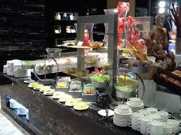 buffet setting for intercontinental shanghai puxi
