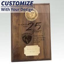 retirement plaque recognition plaques and columns