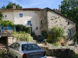 french countryside romantic cottage in french countryside civray france
