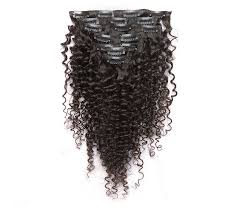 Curly Fusion Hair Extensions by Curly Mongolian Virgin Hair Clip In Human Hair Extensions