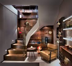 Staircase Wall Design by Staircase Wall Lighting Basement Contemporary With Glass Stair
