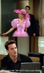 Friends Show Meme - 10 best chandler one liners of all time