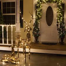 outdoor decorations 48 grapevine standing reindeer