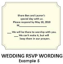 wedding rsvp wording exles wedding rsvp wording exles of wording for showers weddings